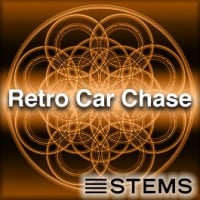 Retro Car Chase Stems