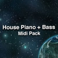 House Piano & Bass Midi